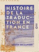 Histoire de la traduction en France ebook