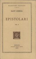 Epistolari (vol. II)