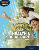 BTEC Level 3 National Health and Social Care: Student