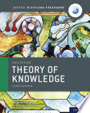 Oxford IB Diploma Programme: IB Theory of Knowledge