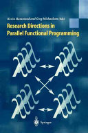 Research Directions In Parallel Functional Programming