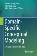 Pdf Domain-Specific Conceptual Modeling Telecharger