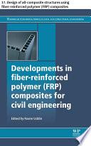 Developments in fiber reinforced polymer  FRP  composites for civil engineering Book