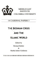 The Bosnian Crisis And The Islamic World