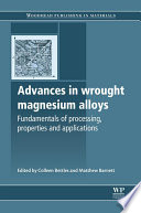 Advances in Wrought Magnesium Alloys Book