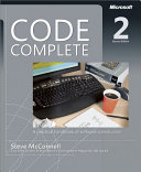 Code Complete ebook