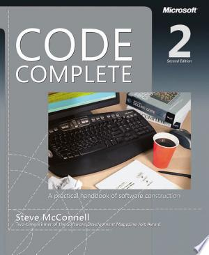 Download Code Complete Free Books - Dlebooks.net