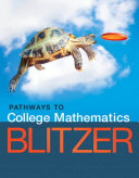 Pathways to College Mathematics [Pdf/ePub] eBook