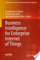 Business Intelligence For Enterprise Internet Of Things Book