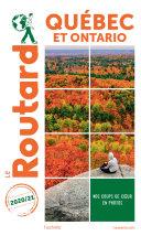 Pdf Guide du Routard Québec et Ontario 2020/21 Telecharger