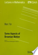 Some Aspects of Brownian Motion