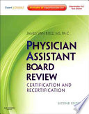 Physician Assistant Board Review Book PDF
