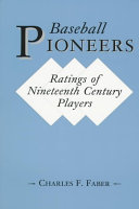 Baseball Pioneers Book PDF