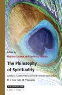 The Philosophy of Spirituality