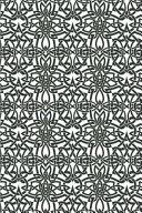Viking Pattern   Celtic Pattern  Blank Lined Notebook for Norse Mythology Lovers