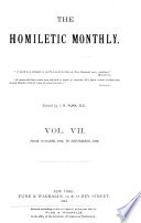 The Homiletic Monthly