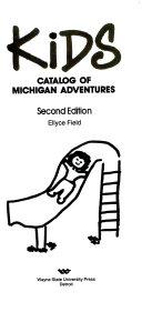 Kids Catalog of Michigan Adventures