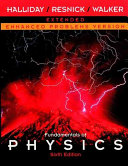 Fundamentals of Physics  A Student s Companion E Book to Accompany Fundamentals of Physics  Enhanced Problems Version