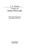 Essays on Indian Philosophy