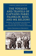 Pdf The Voyages and Travels of Captains Ross, Parry, Franklin, and Mr Belzoni