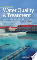 Water Quality Treatment A Handbook On Drinking Water Book PDF