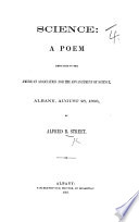 Science: a poem, etc