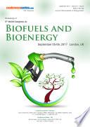 Proceedings of 6th World Congress on Biofuels and Bioenergy 2017
