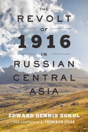 Pdf The Revolt of 1916 in Russian Central Asia Telecharger