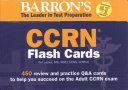 Barron s CCRN Flash Cards Book