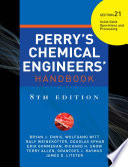 PERRY S CHEMICAL ENGINEER S HANDBOOK 8 E SECTION 21 SOLID SOLID OPER PROC  POD