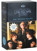 A Series of Unfortunate Events Box  The Trouble Begins Movie Tie in Edition