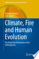 Climate  Fire and Human Evolution