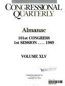 Congressional Quarterly Almanac, 1989