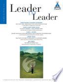 Leader to Leader  LTL   Volume 80  Spring 2016