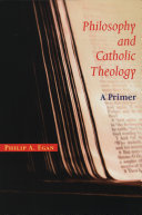 Philosophy and Catholic Theology