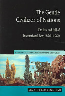 The Gentle Civilizer of Nations Book