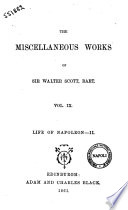 The Miscellaneous Works Of Sir Walter Scott Bart