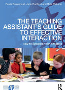 The Teaching Assistant s Guide to Effective Interaction