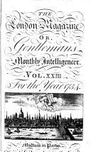 The London Magazine, Or, Gentleman's Monthly Intelligencer