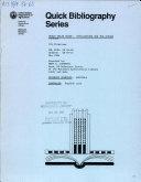 World Grain Trade  Implications for the Future  1975 1985