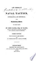 An Essay on Naval Tactics