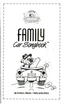The Kidz Family Car Songbook and Audiocassette