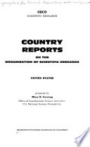 OECD Scientific Research: United States