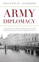 Army Diplomacy Pdf/ePub eBook
