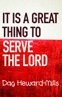 It Is A Great Thing To Serve The Lord [Pdf/ePub] eBook
