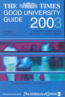 The Times Good University Guide 2003