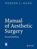 Manual of Aesthetic Surgery
