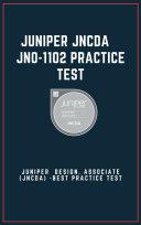 Juniper JNCDA - JN0-1102 Exam Practice Test 2021 Pdf/ePub eBook