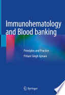 Immunohematology and Blood banking