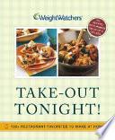 Weight Watchers Take Out Tonight  Book